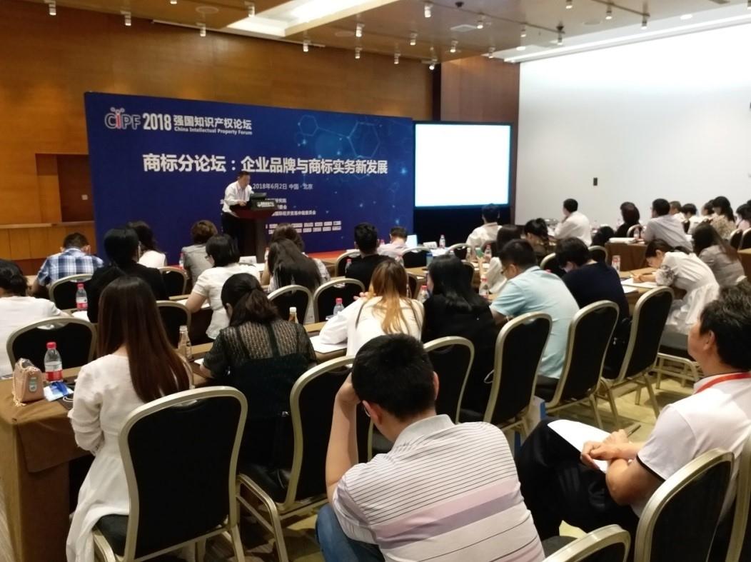 图二:冯超律师在2018强国知识产权论坛做演讲.jpg